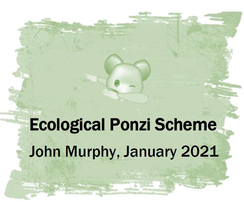 Ecological-Ponzi-Scheme
